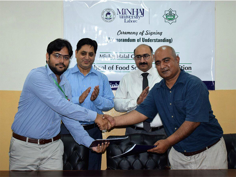MoU with Food & Nutrition Department